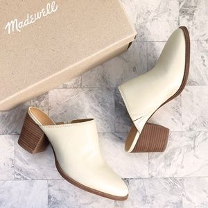 NEW Madewell The Harper Leather Mules